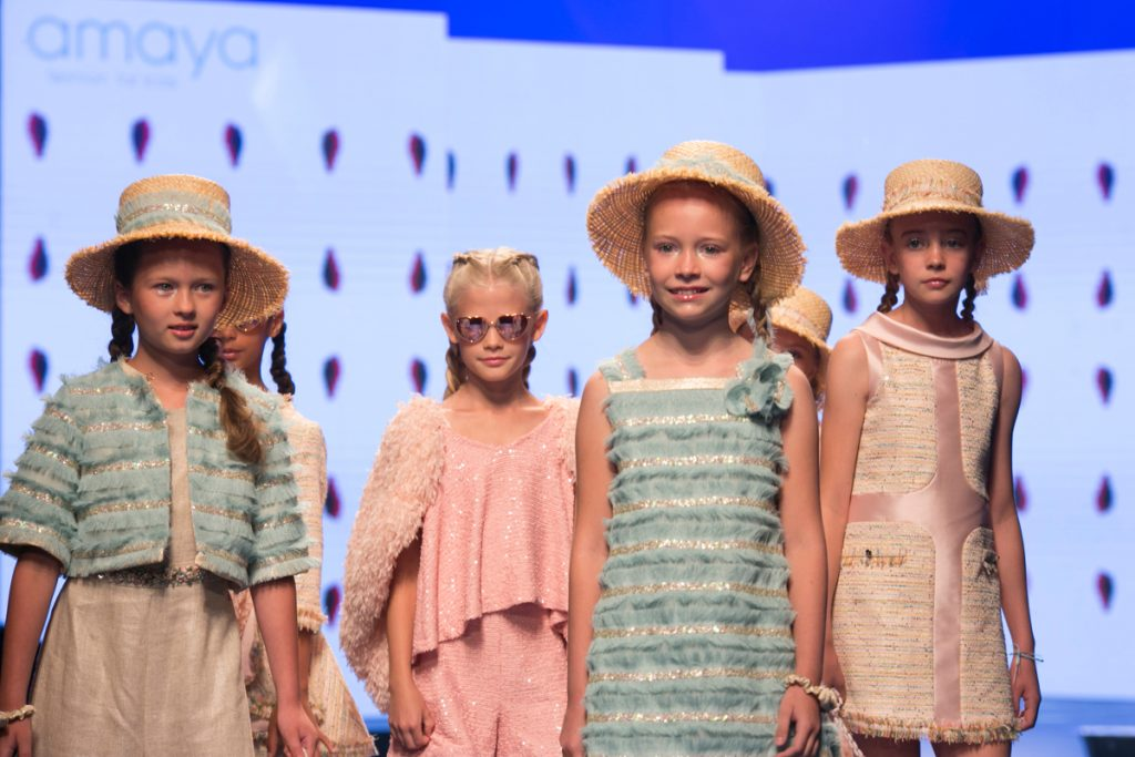 Children's fashion from Spain Pitti Bimbo 89 Amaya