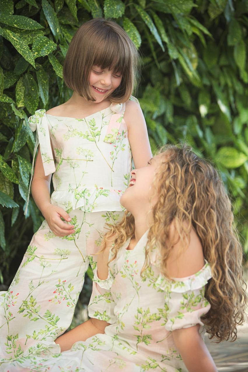 Imoimo kids spring summer 2019 visiting Villa Monastero Varenna
