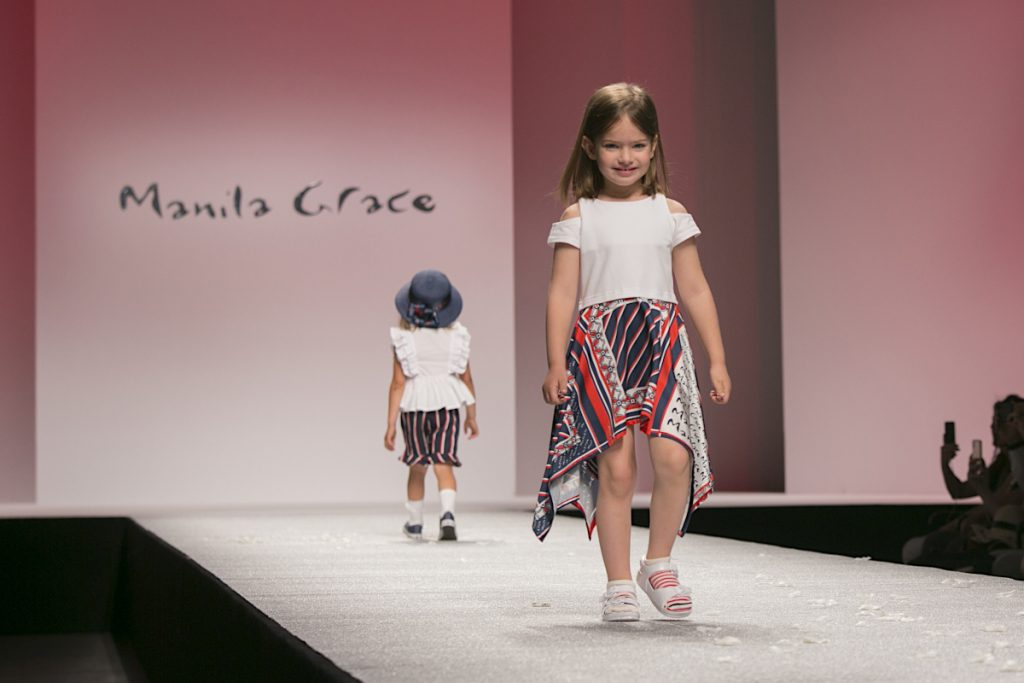 Manila Grace Girl Pitti Bimbo 89 Spring Summer 2020 Casillo