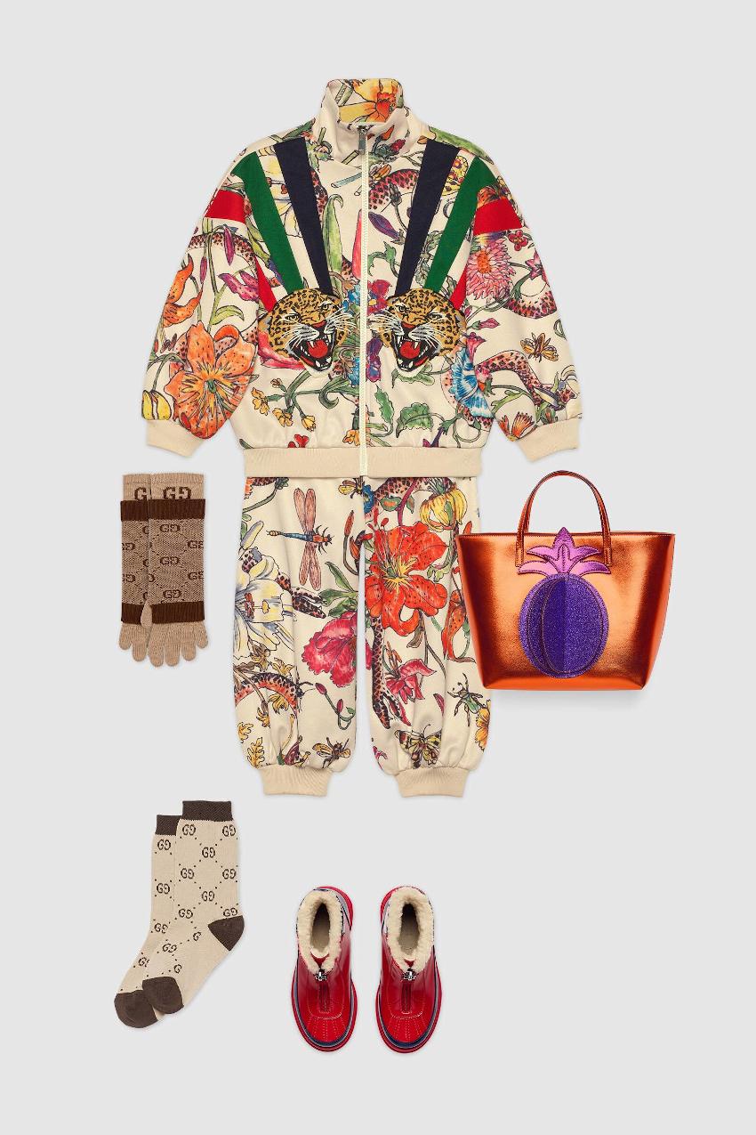 Gucci children girls mini-me fall winter 2019/2020