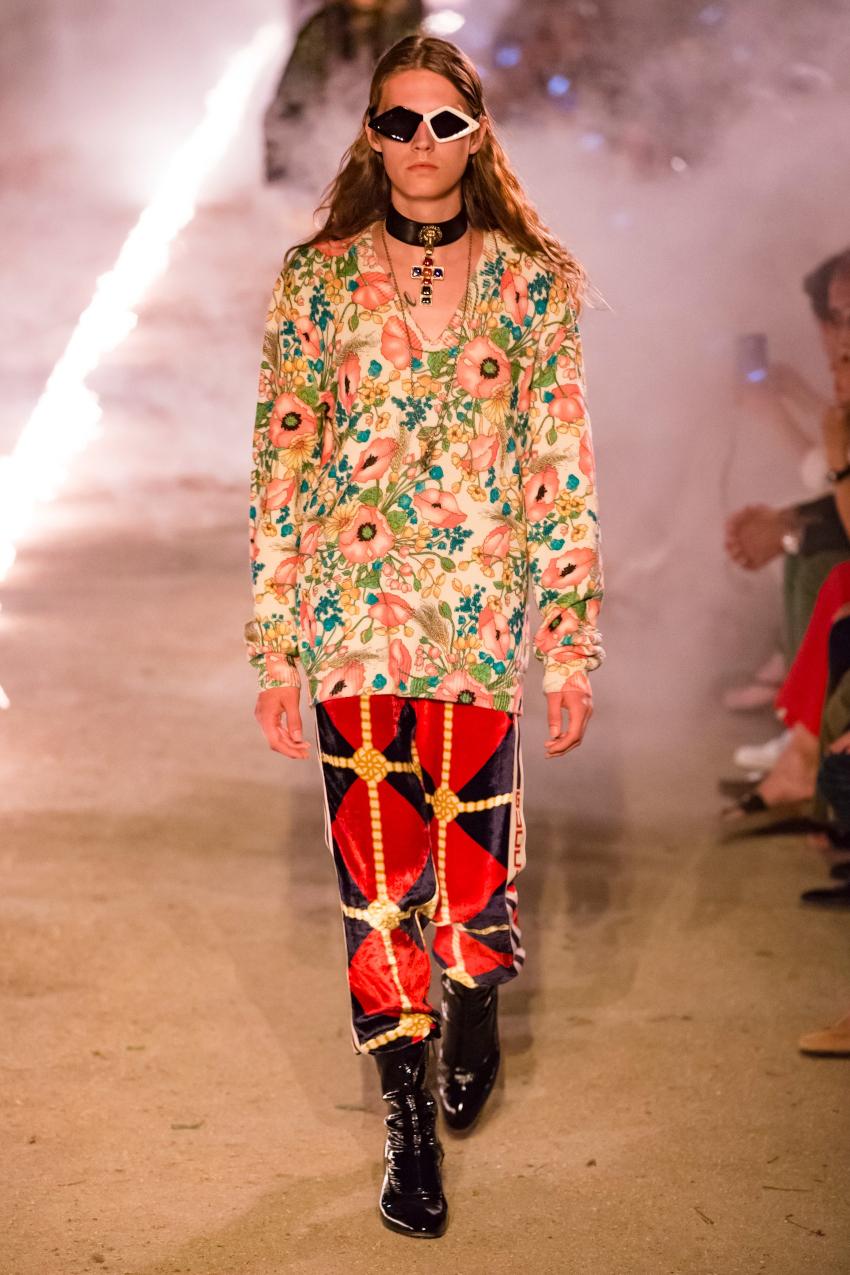Milan Fashion Week Spring Summer 2020 Gucci Woman