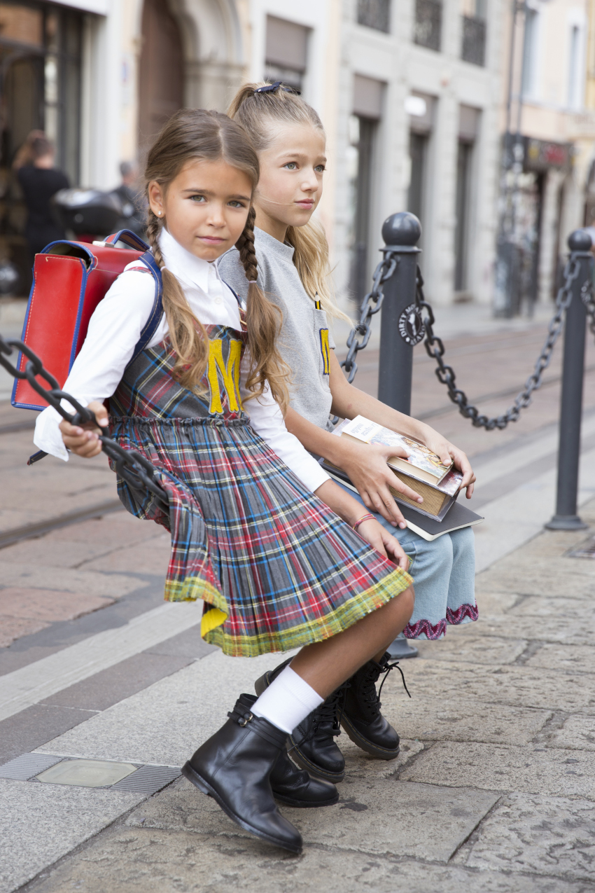 Mimisol back to school 2019 around Milan