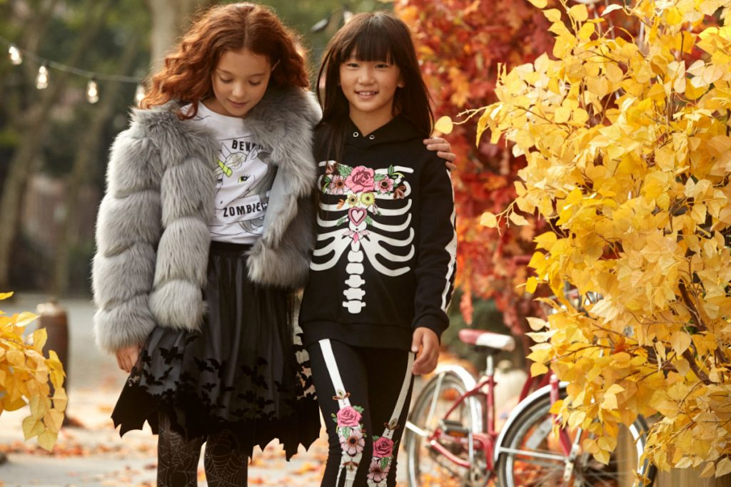 H&M Halloween girls costumes 2019