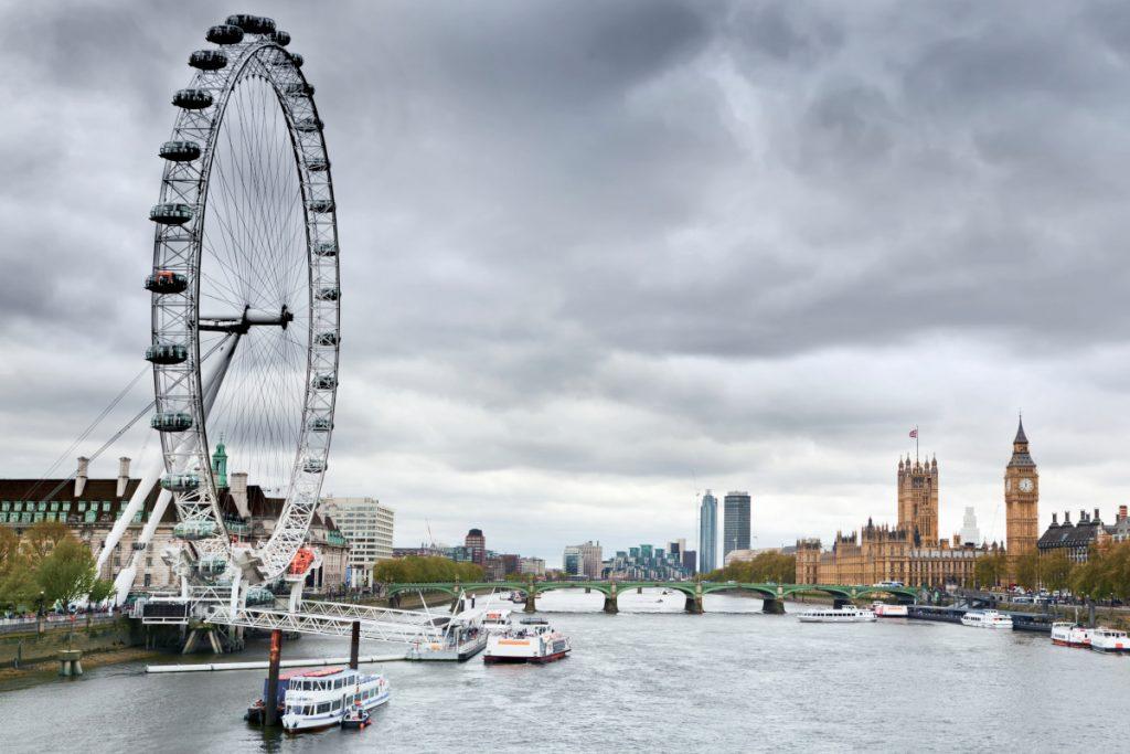 Weekend in London with kids London Eye