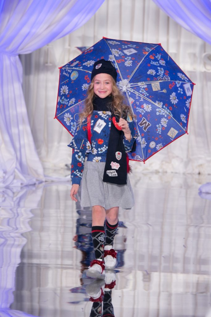 Monnalisa fashion show from pitti bimbo 88