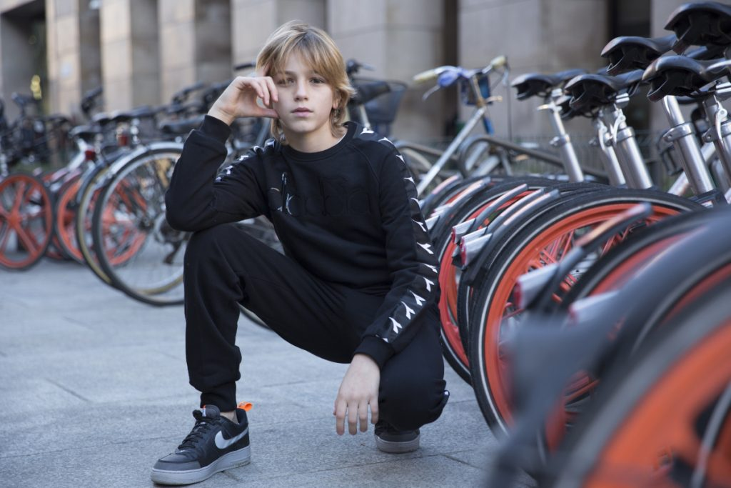 Diadora Kids sporty-chic Fall Winter 2019