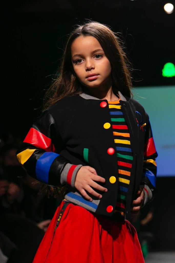 United Colors Of Benetton Street Show Pitti Bimbo 90