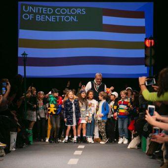 United Colors Of Benetton Show Pitti Bimbo 90