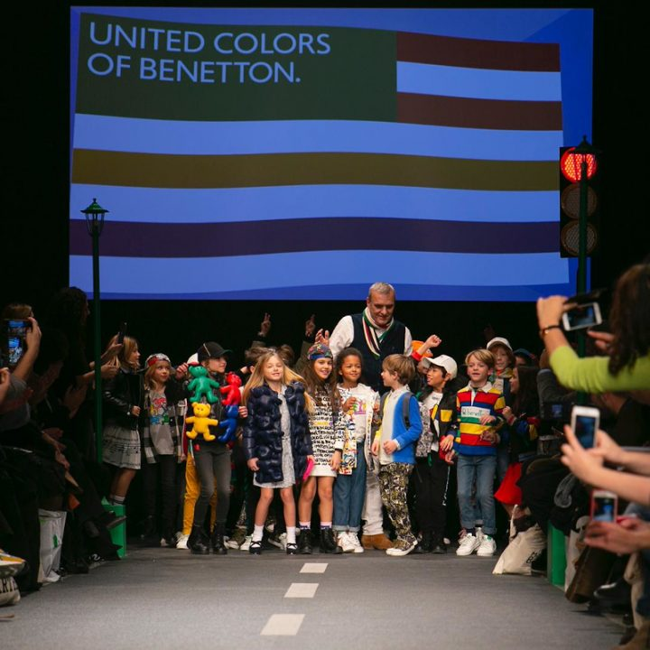 United Colors Of Benetton Show Pitti Bimbo 90