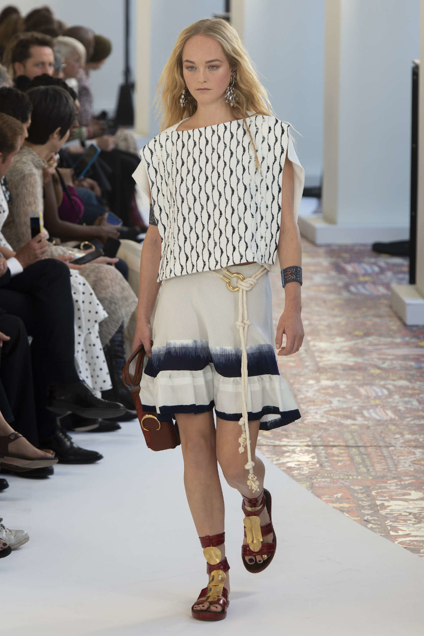 Paris Fashion Week Fall Winter 2020-2021 - Chloé spring summer 2020 that inspired mini-me outfit SS20