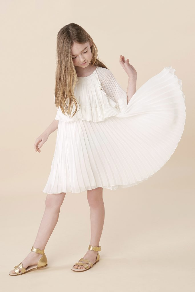 Chloe girl spring summer 2020 mini-me outfit