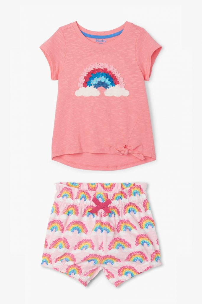 Hatley Rainbow Print for our selection Rainbows against Coronavirus