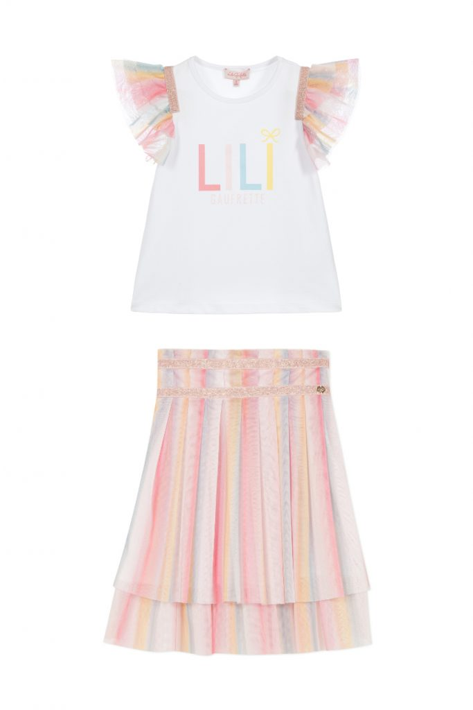 Lili Gaufrette Rainbow Print for our selection Rainbows against Coronavirus