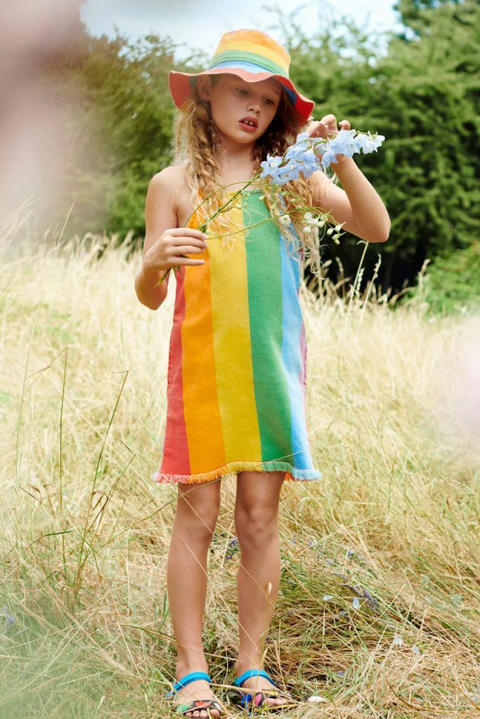 Stella McCartney Rainbow Print for our selection Rainbows against Coronavirus