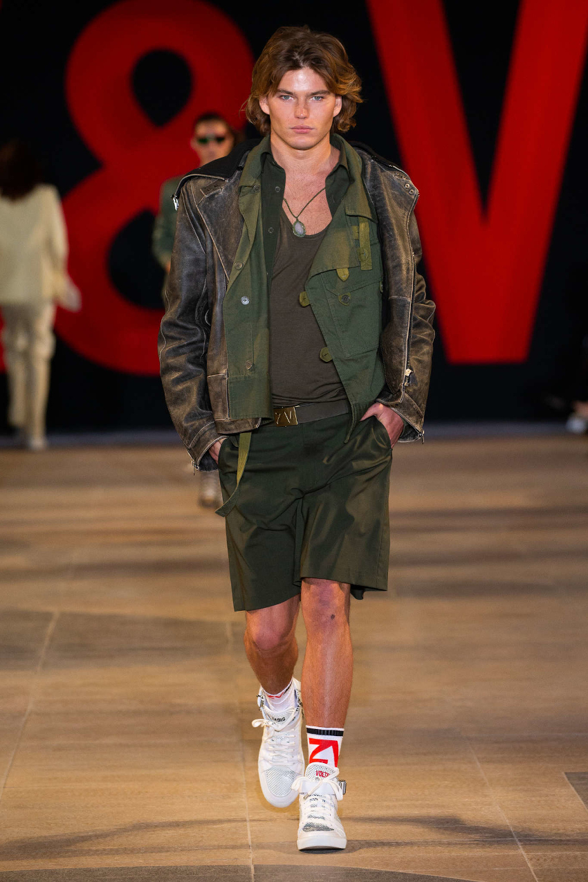 Paris Fashion Week Fall Winter 2020-2021 - Zadig & Voltaire spring summer 2019 that inspired mini-me outfit for boys SS20