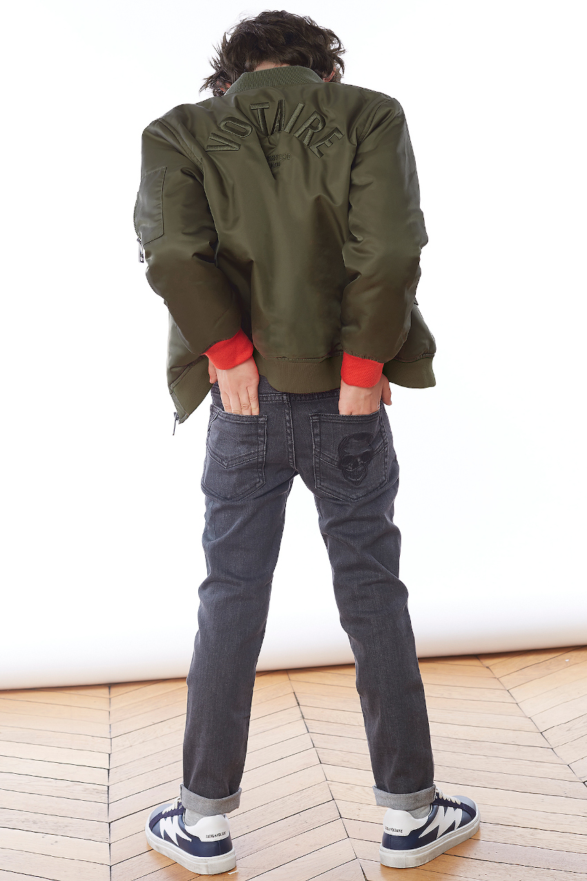 Zadig & Voltaire spring summer 2020 mini-me outfit for boys