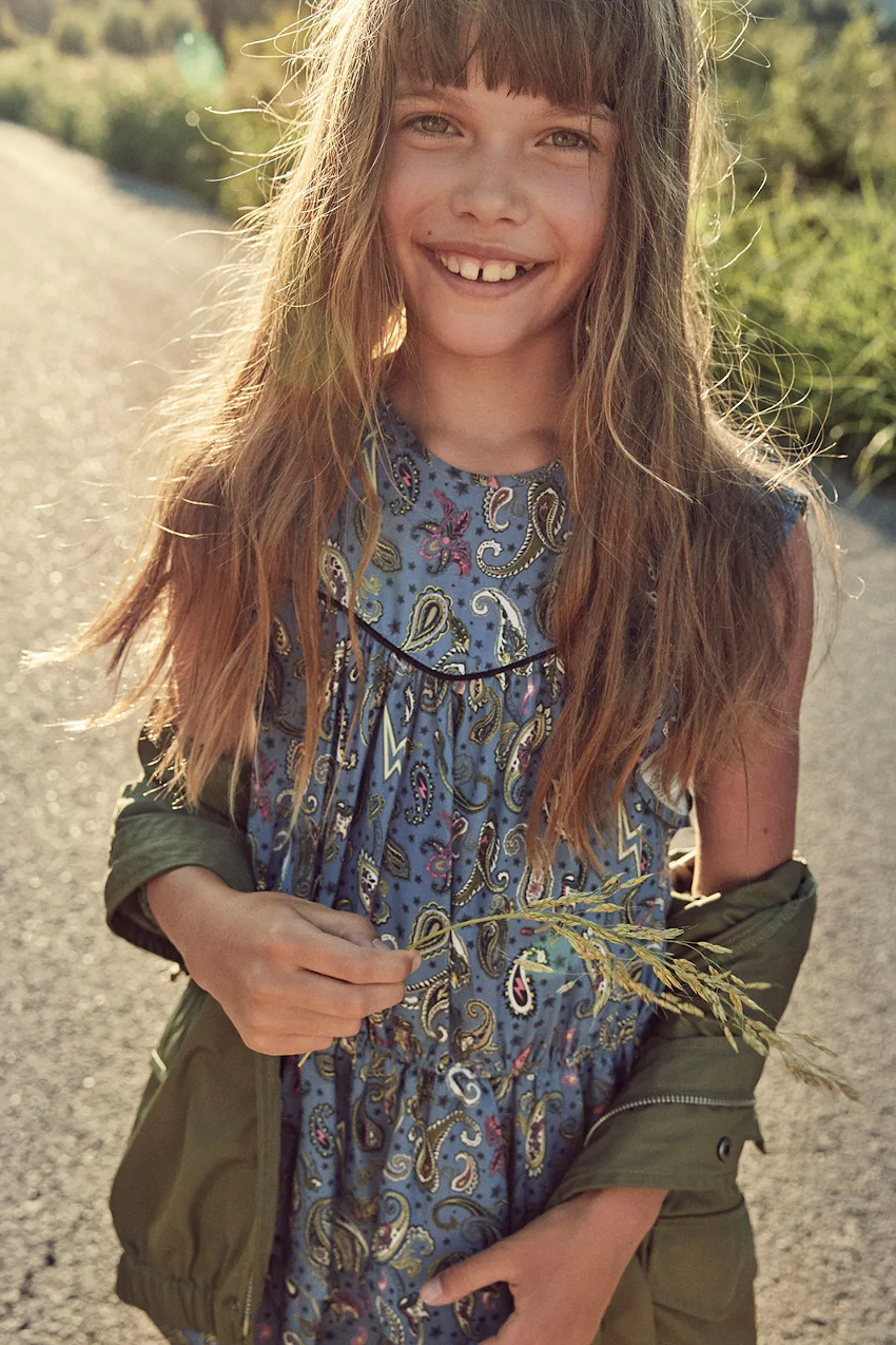 Zadig & Voltaire spring summer 2020 mini-me outfit for girls