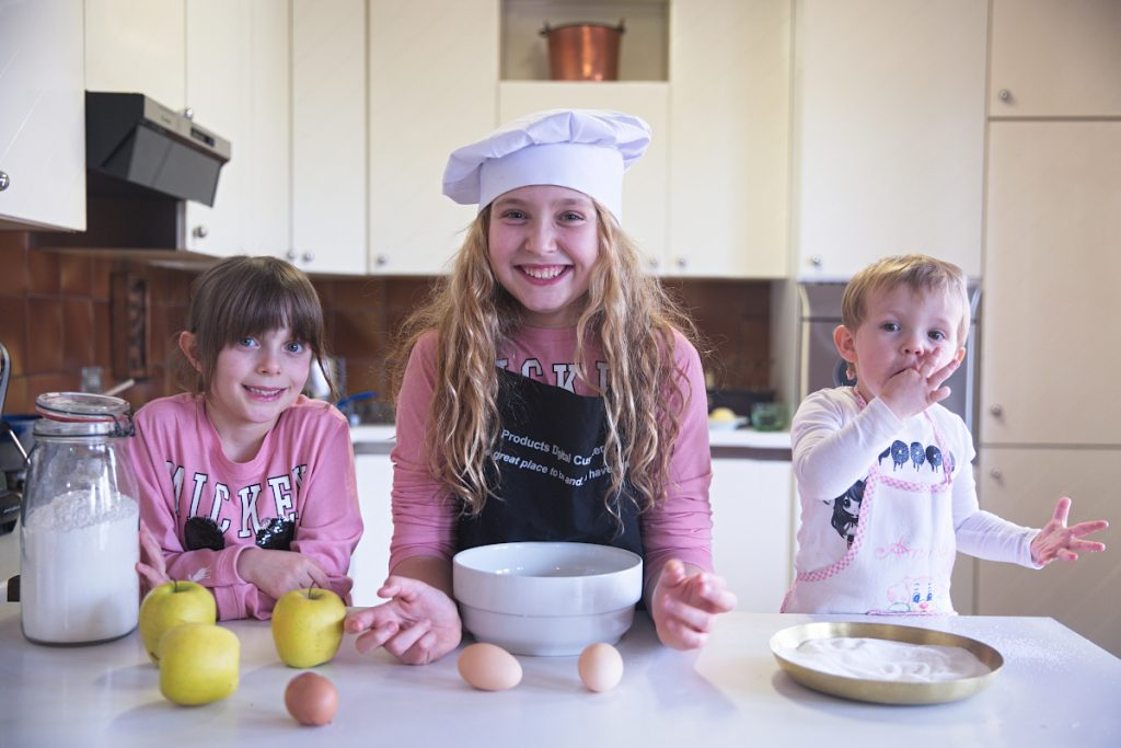 Kids Life Update Amid Coronavirus Cooking with kids