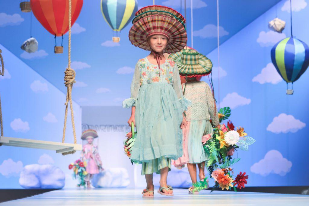 Péro kids clothing spring summer 2020 apartment fashion show during Pitti Bimo 89