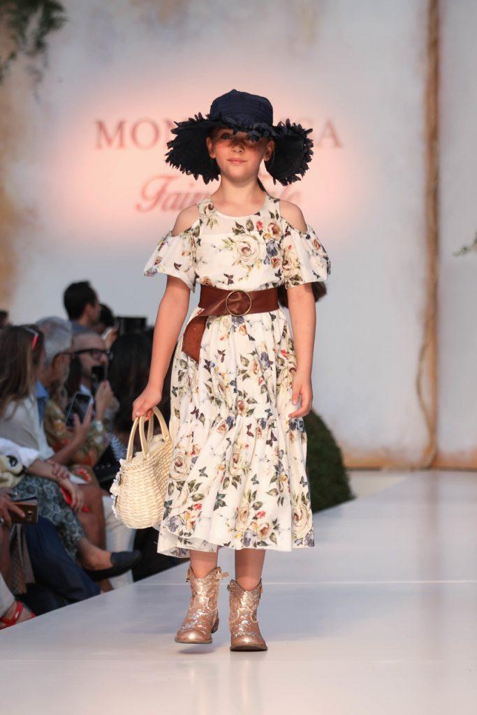Monnalisa Floral dress for Spring Summer 2020