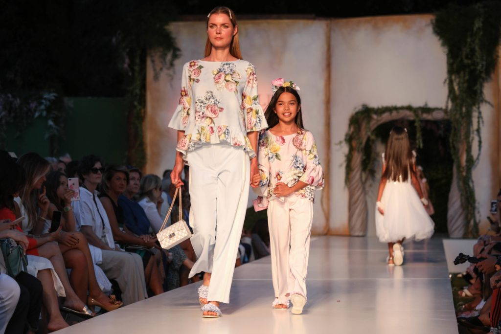 Monnalisa floral outfits for spring summer 2020
