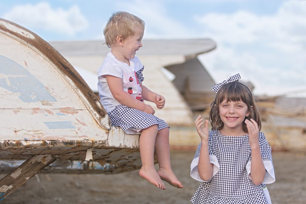 Alice and Aurora in Simonetta sporty chic spring summer 2020