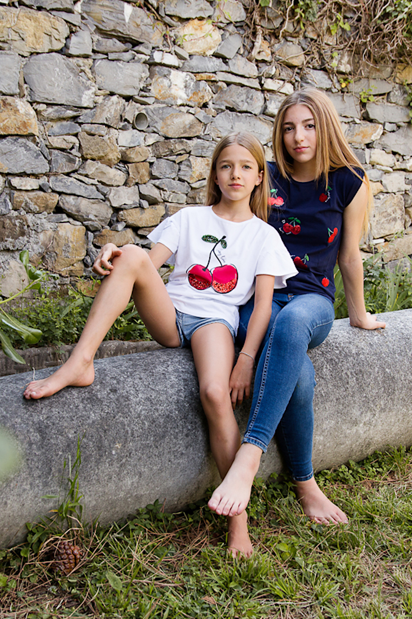 Friendship at the time of Coronavirus Calliope t-shirts with cherries
