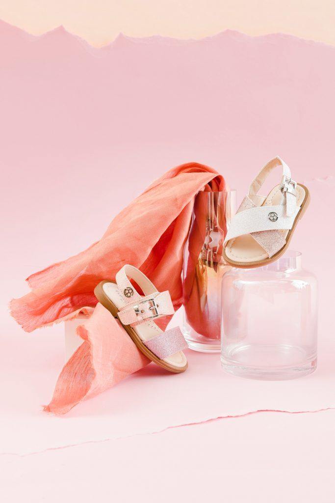 Florens baby Spring Summer 2020 salmon pink sandals