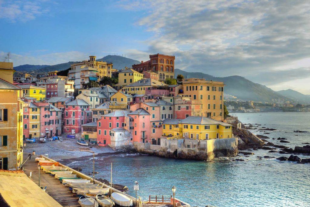 il romantico borgo di Genova Boccadasse