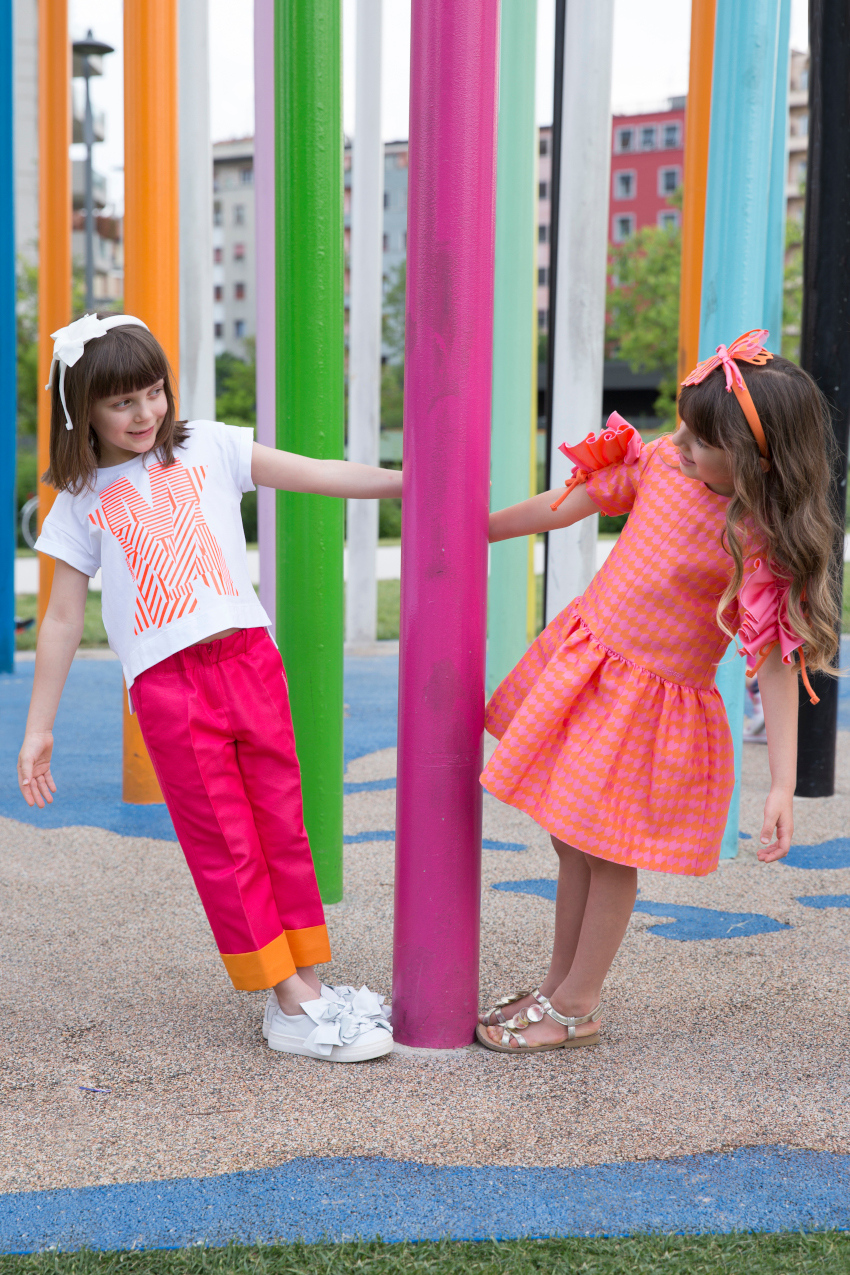 Kids fashion trends summer 2020 sorbet colours with Valmax