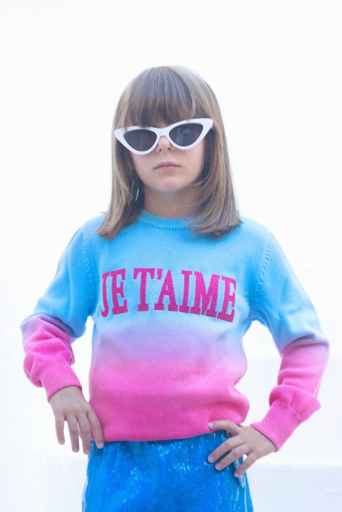 Alberta Ferretti Junior Mini-me I love You