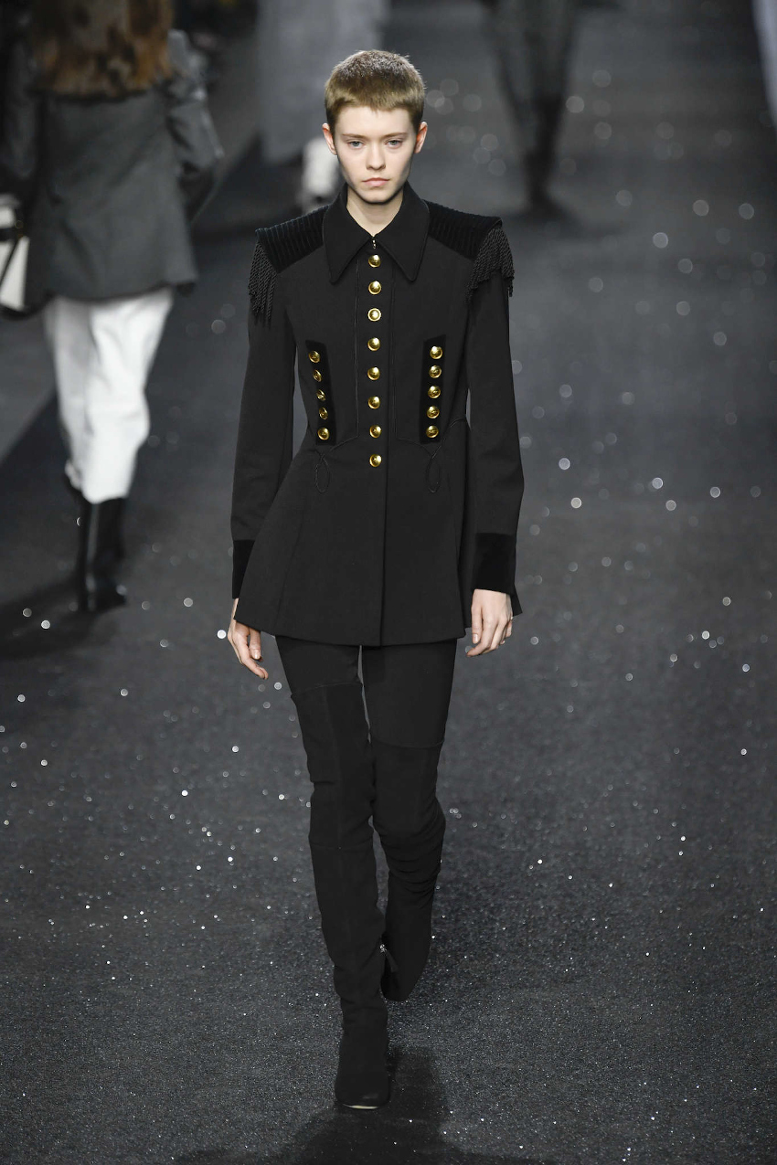Milan Fashion Week Spring Summer 2021 and mini-me outfits for the winter season Alberta Ferretti