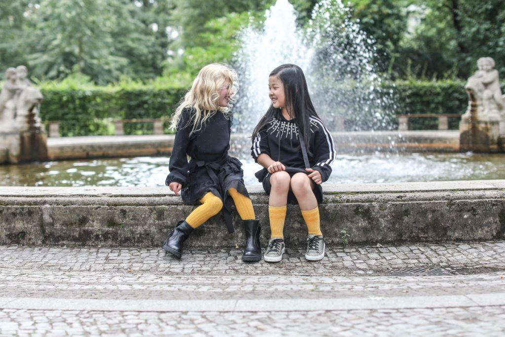 Back To School with Dianetti fall winter 2020/2021 soft black leather boots for her