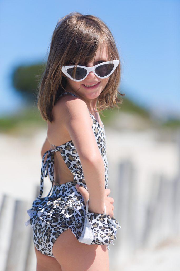 Streghe In Bikini one piece leopard print