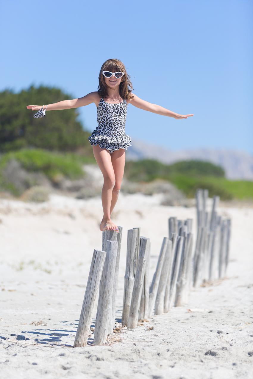 Alice at La Cinta beach and Streghe In Bikini swimming suits