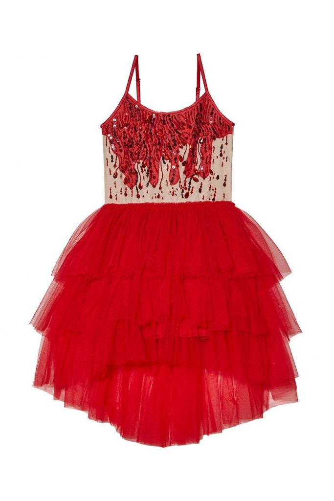 Halloween 2020 tutu du monde capsule collection ruby tutu dress