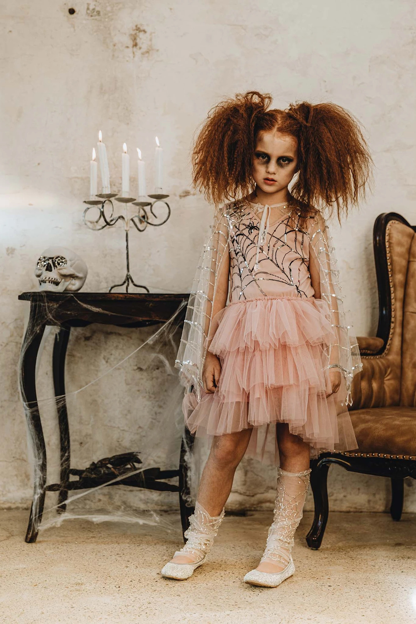 Halloween 2020 tutu du monde capsule collection pink tutu dress