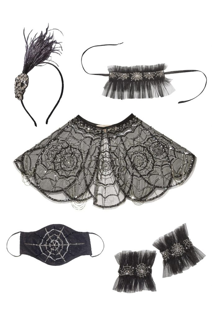 Halloween 2020 tutu du monde capsule collection black accessories