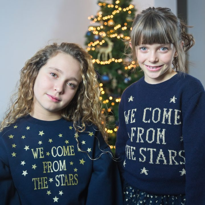 We come from the stars for Christmas 2020