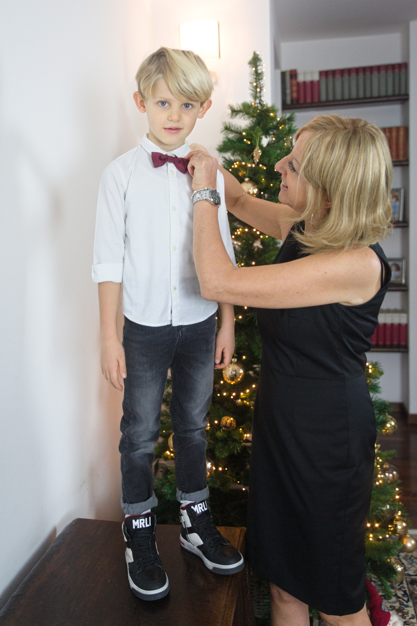 Christmast at the time of Covid - Laura and Gabriele in morelli shoes fall winter 2020/2021