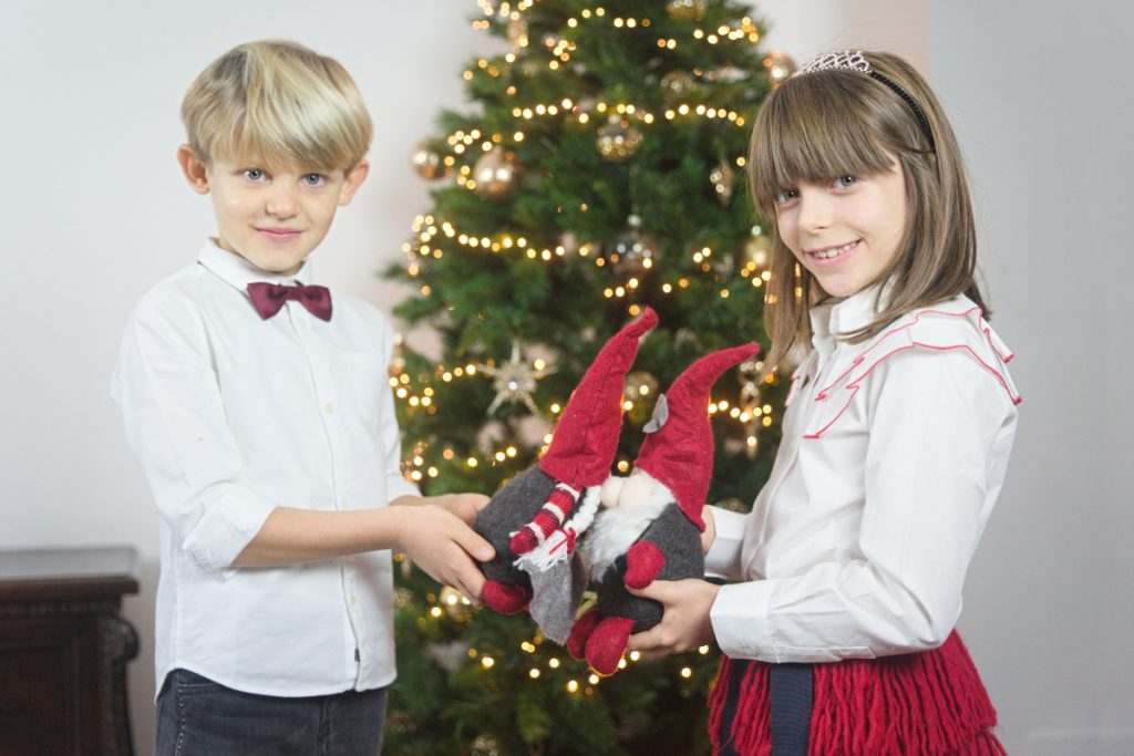 Alice and Gabriele in morelli shoes fall winter 2020/2021