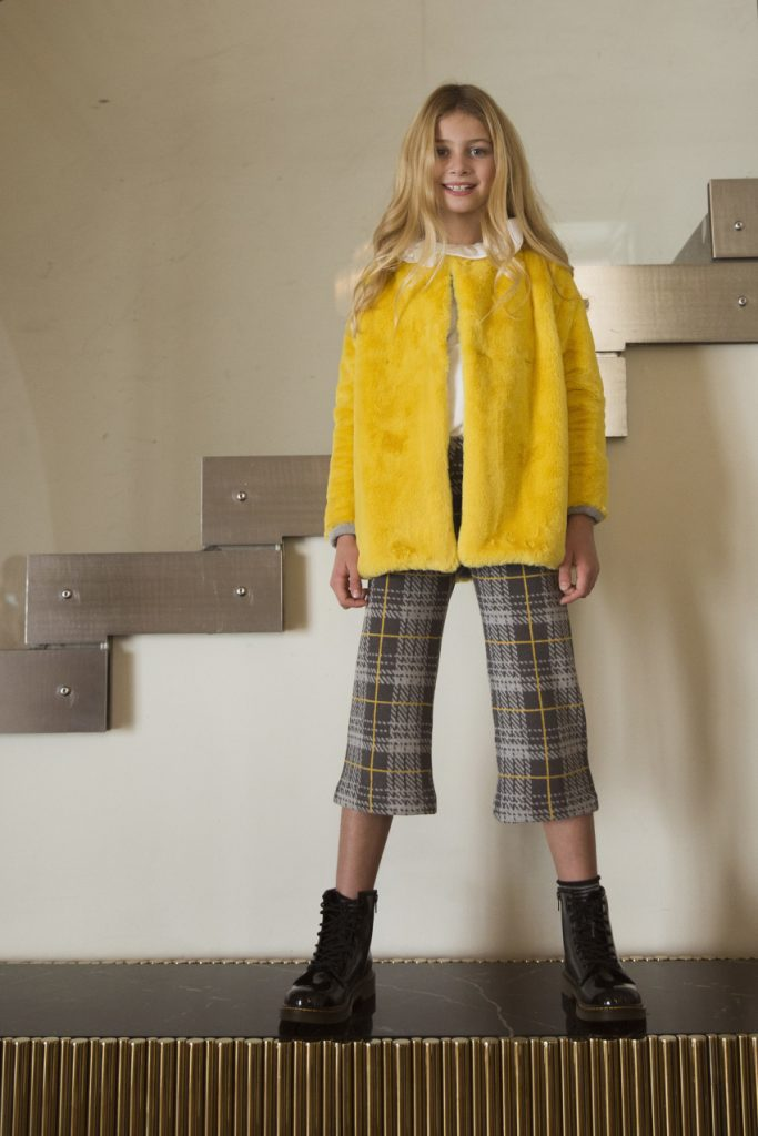 Ginevra yellow eco fur from Magil fall winter 2020 2021