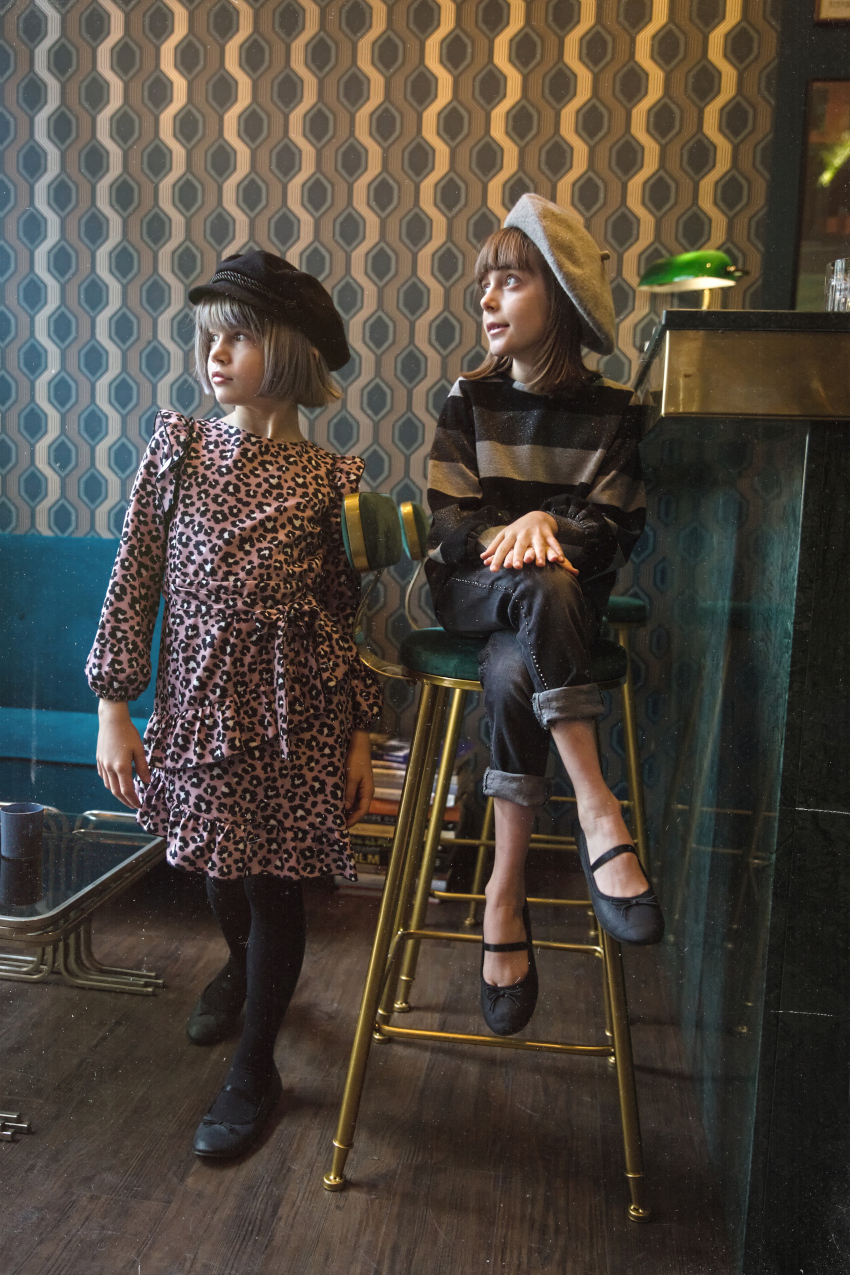 Alice and Amelia in T-Love fall winter 2020/2021 collection