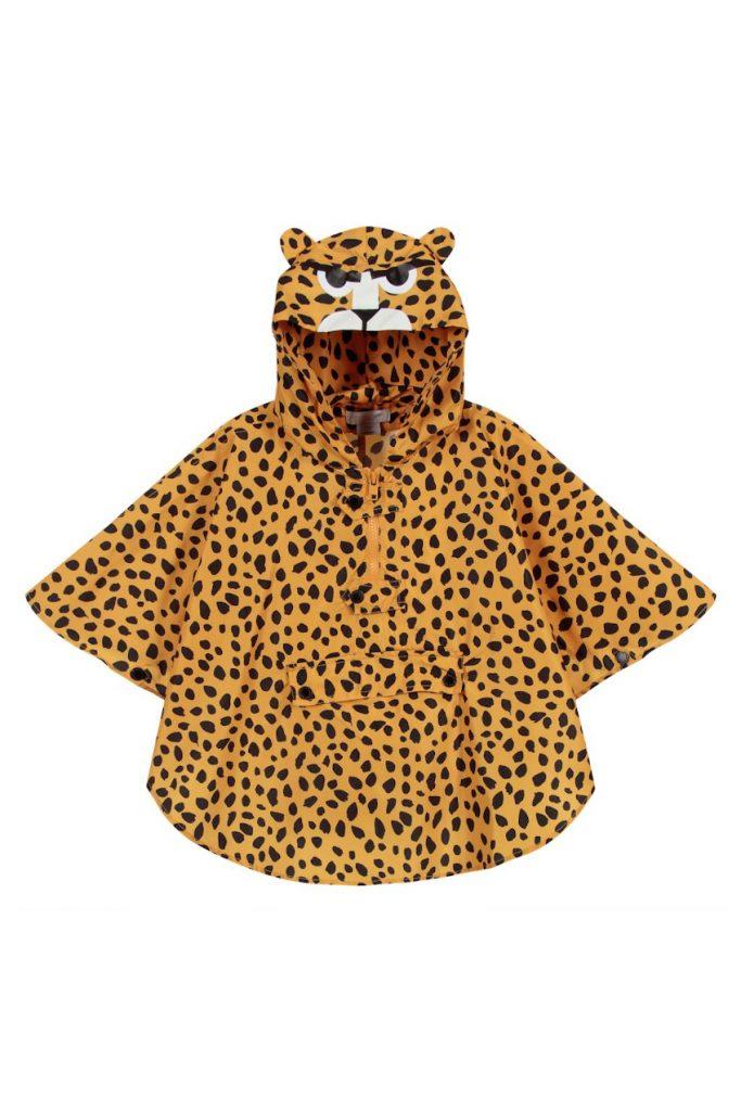 Stella McCartney cheetah raincoat