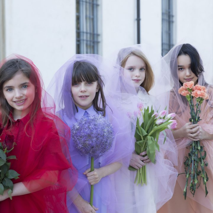 Blossoming Beauty Kids Fashion Editorial