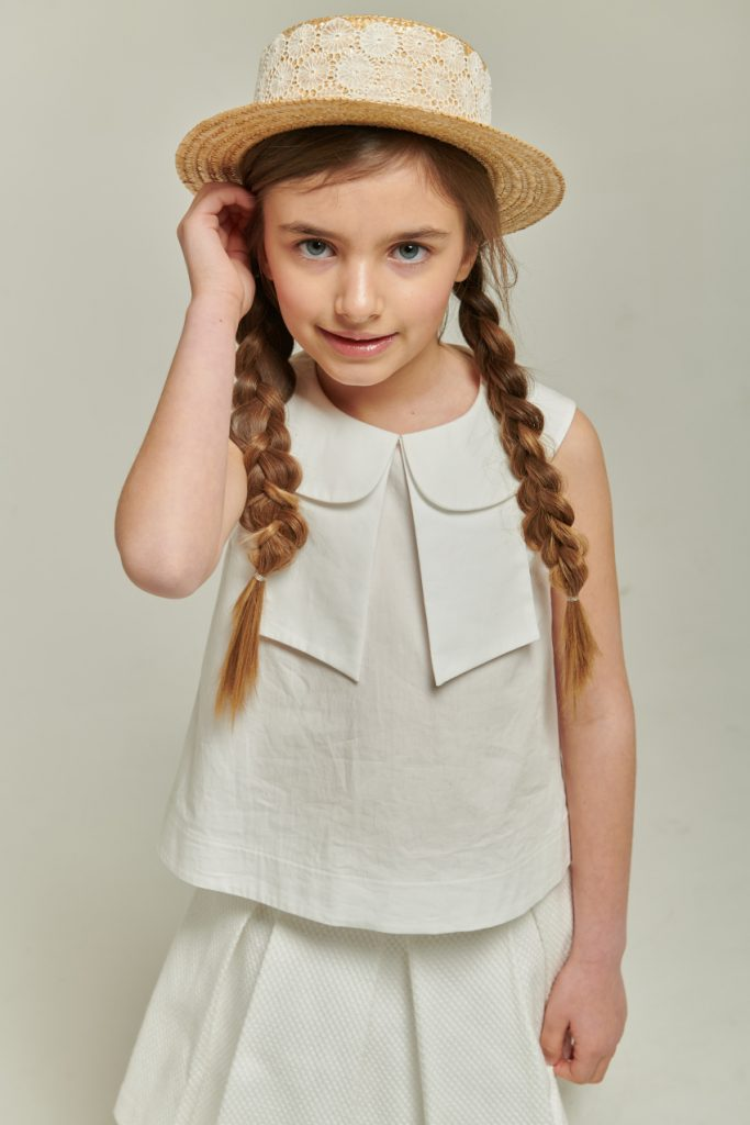 kids fashion trends for ss21 total white