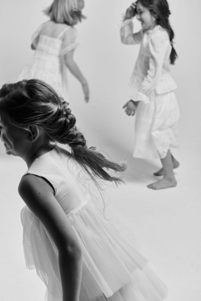 The white story: Fannice Kids Fashion editorial on Anon Fashion Kids magazine