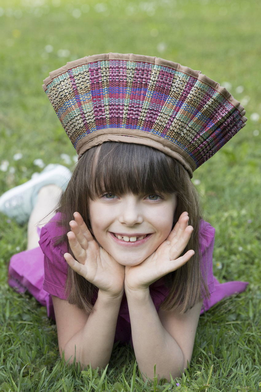Alice with Lorna Murray spring summer 2021 Capri hats for girls
