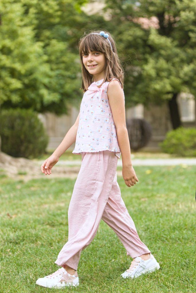 Alice in Malvi &Co. and Morelli shoes