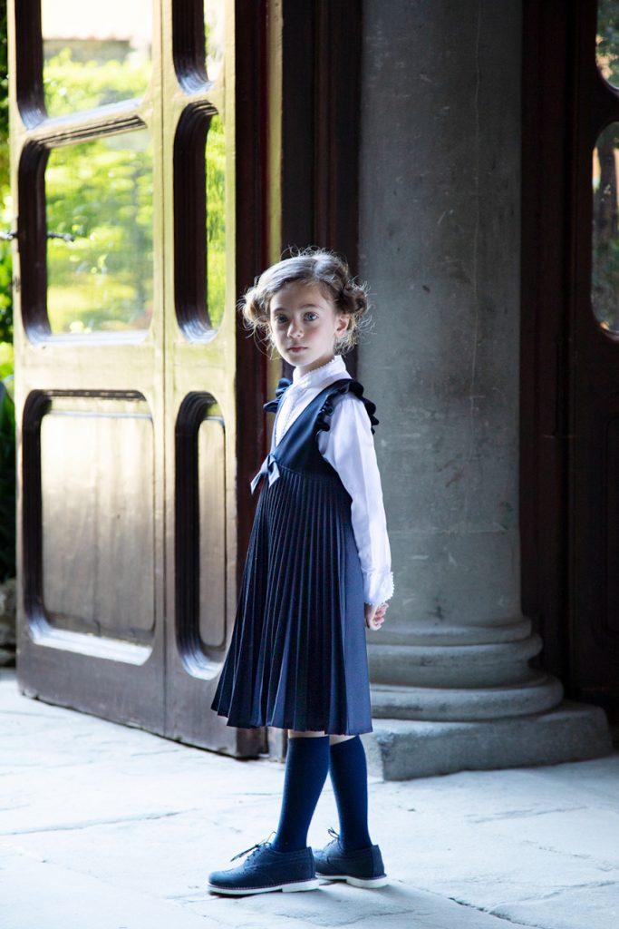 Aletta blue dress preppy style 2021